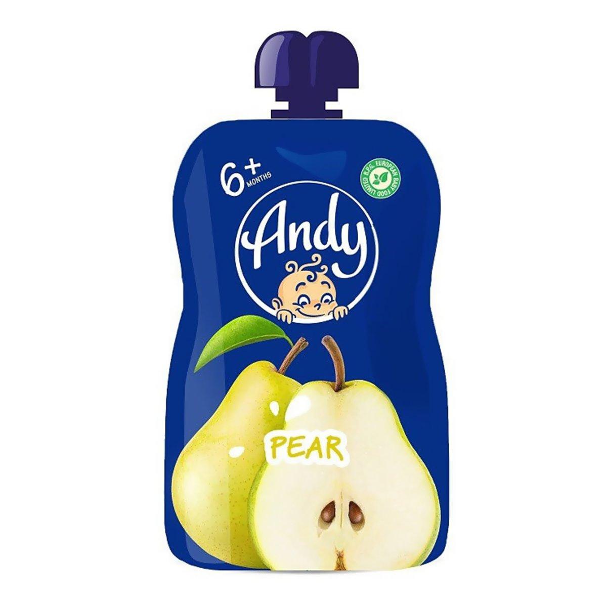 andy Пюре фруктовое Andy Груша 90 гТМ: Andy 1999535