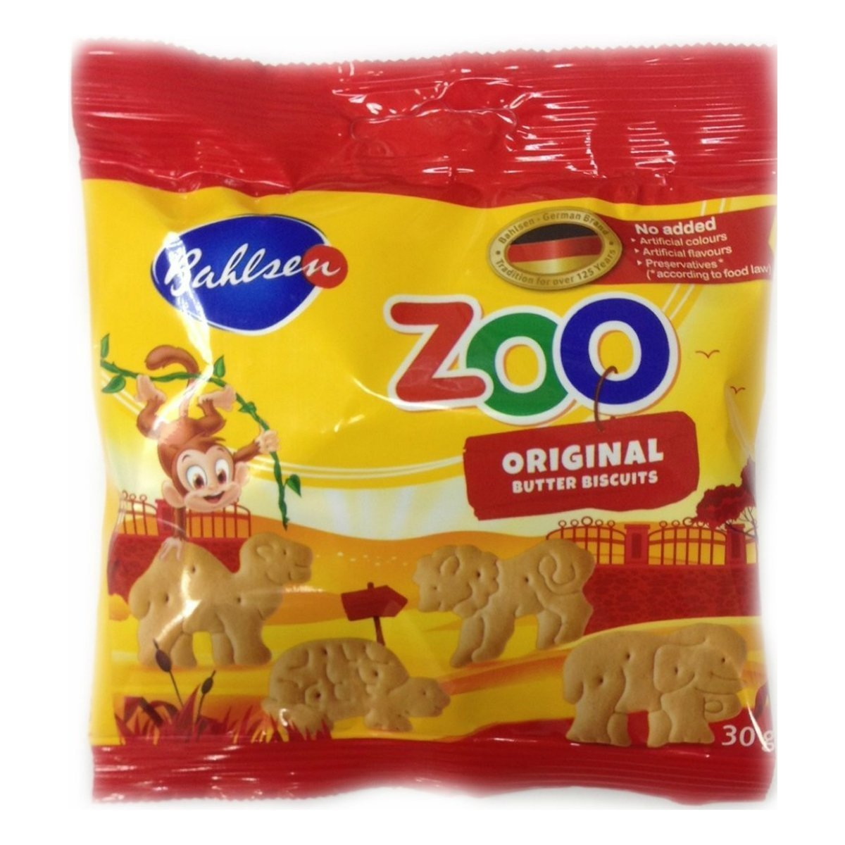 bahlsen Bahlsen Печенье Zoo сливочное, 30 гТМ: Bahlsen 2200078