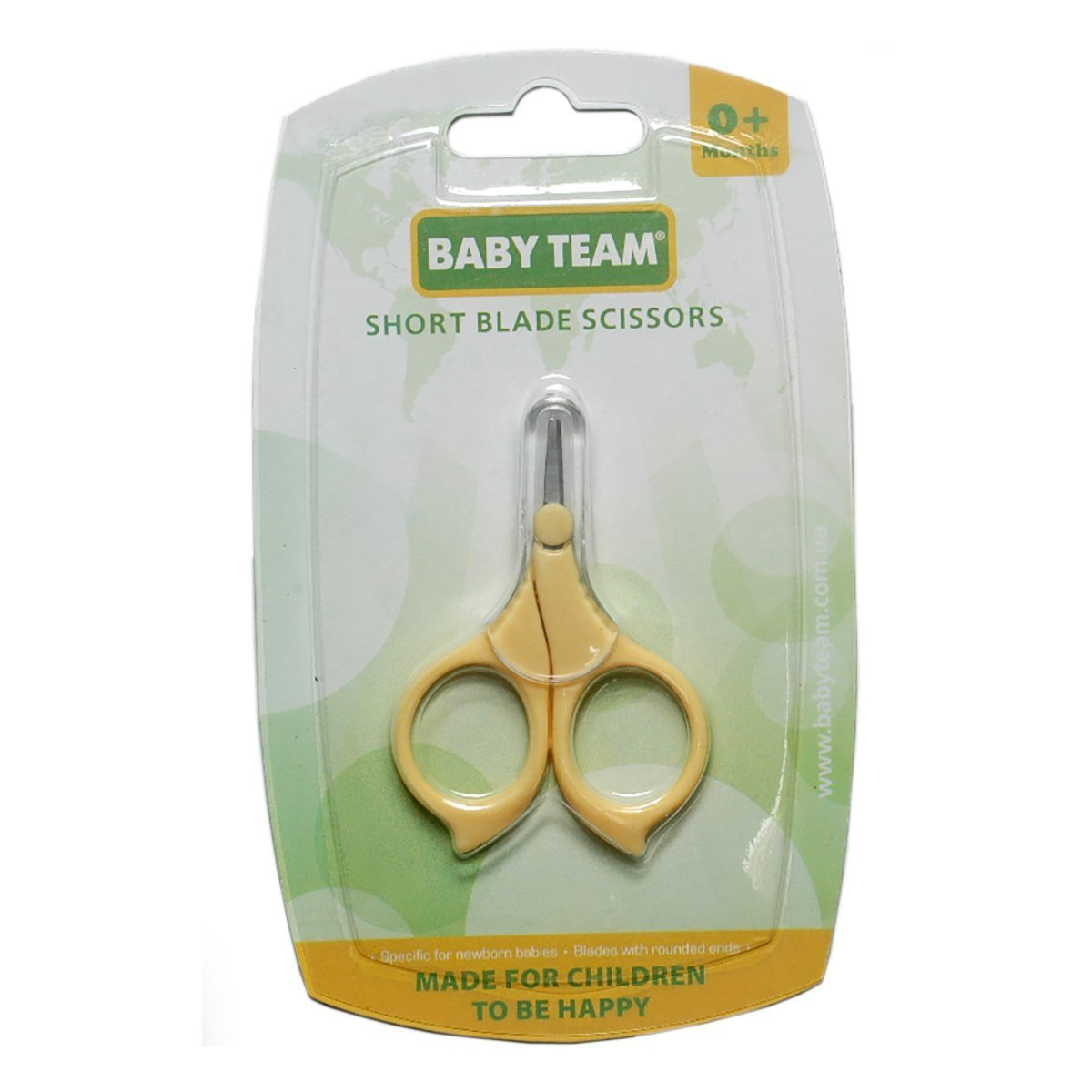 Купить Маникюрные принадлежности, Ножницы с короткими лезвиями, (в ассорт.) 7101 ТМ: BABY TEAM