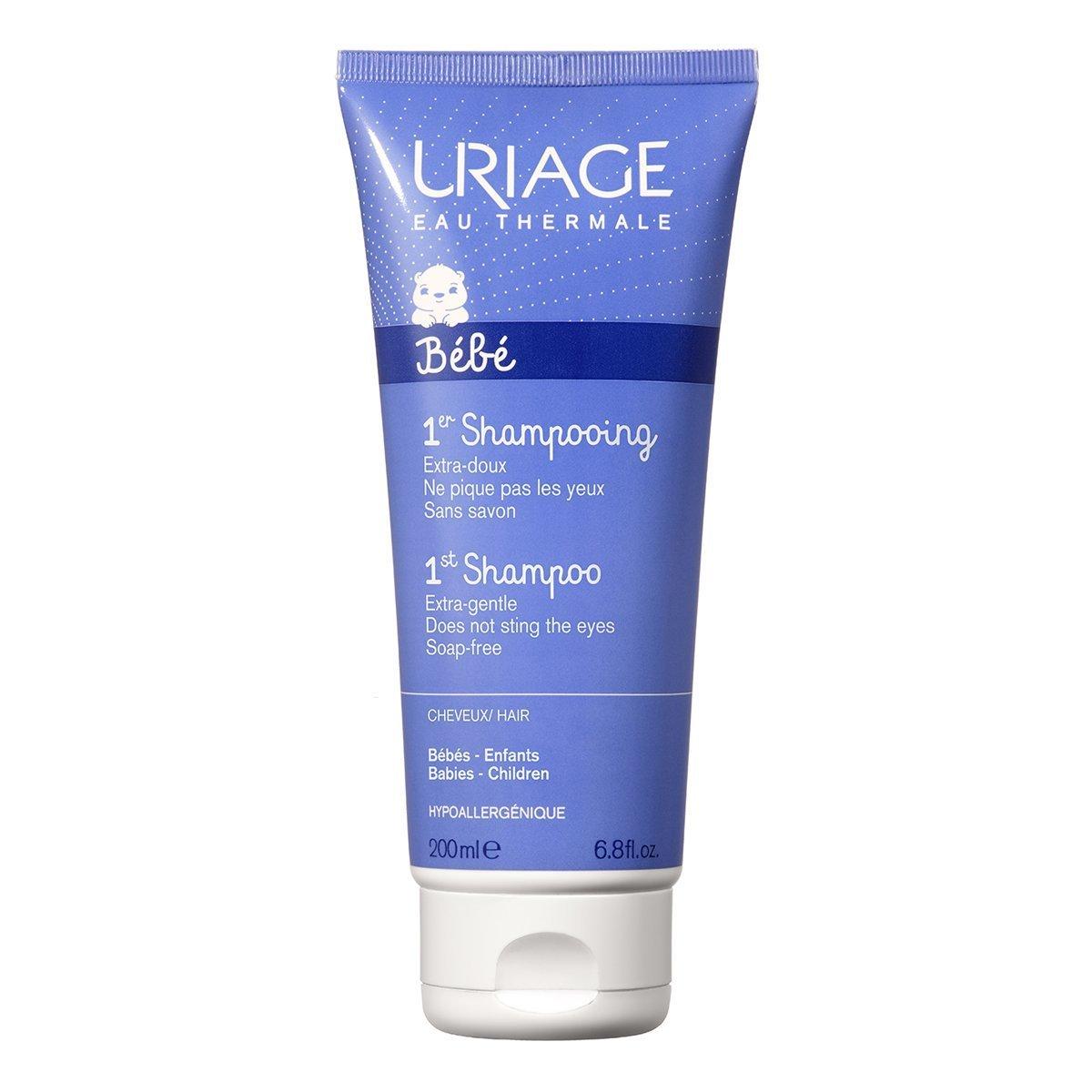 Купить Шампуни, Первый экстрамягкий шампунь для детей Uriage Bebe, 200 мл 15000603/2076 ТМ: Uriage