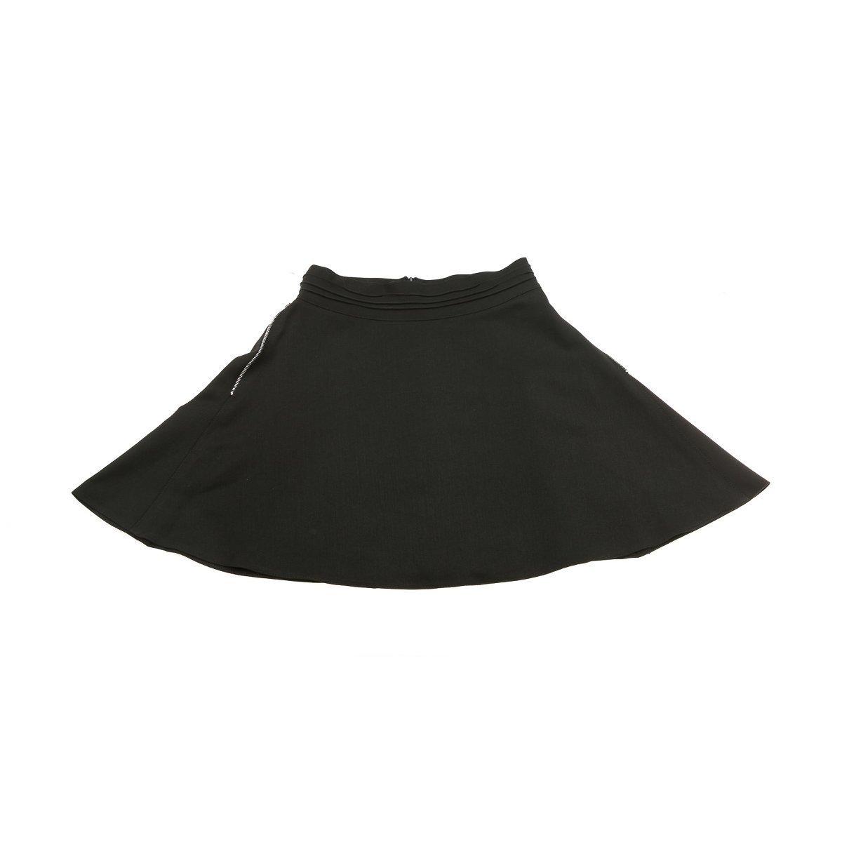 Купить Платья, сарафаны, юбки, Юбка Mevis с молниями, черная, р. 146 1822 ТМ: Mevis, черный