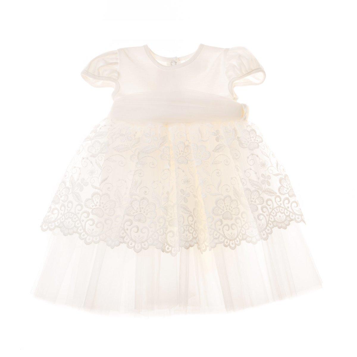 Купить Платья, сарафаны, юбки, Платье Бетис Сияние молочного цвета, р. 68 27075316 ТМ: Бетис, молочный