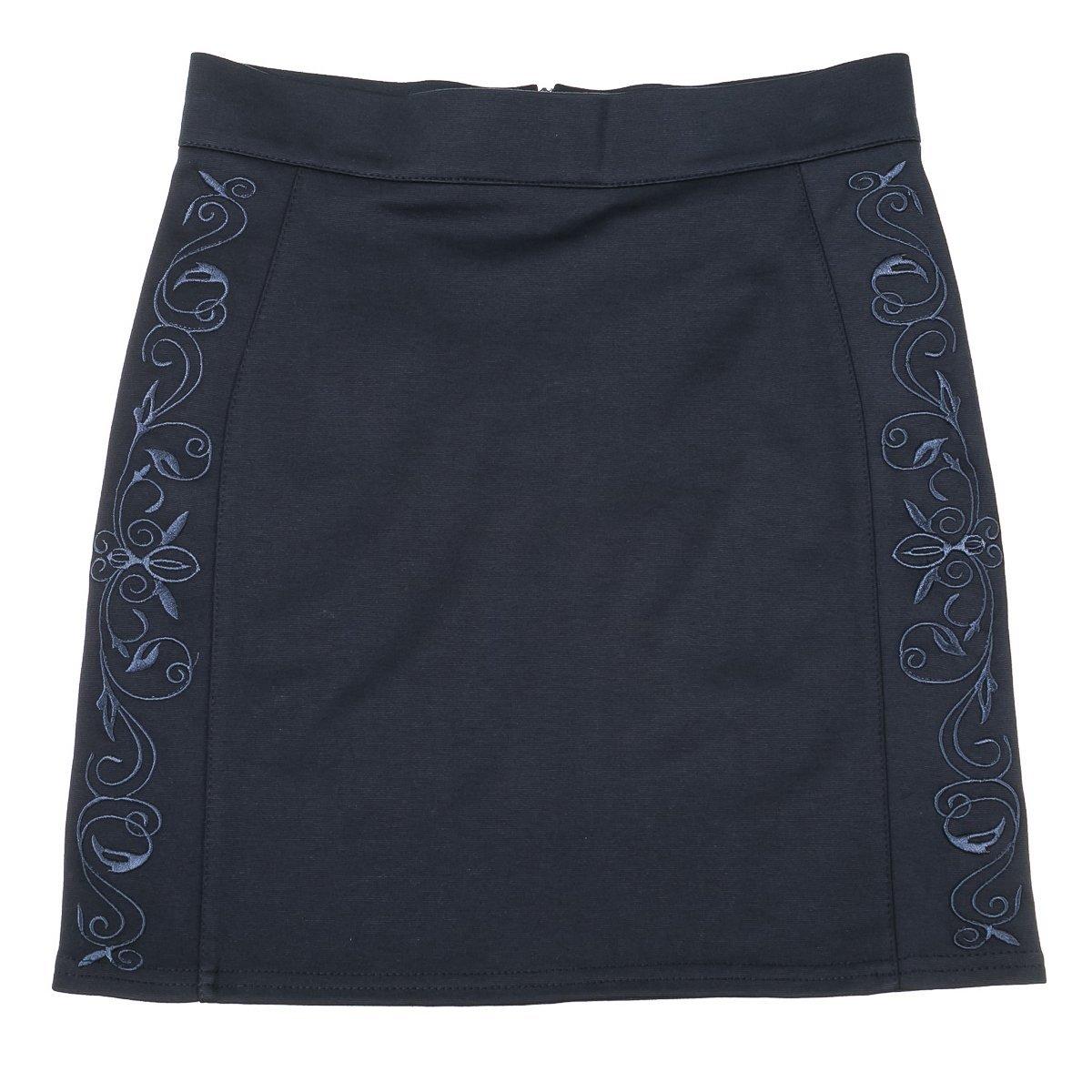 Купить Платья, сарафаны, юбки, Юбка Mevis Olivia темно-синяя, р. 164 1684-01 ТМ: Mevis, синий