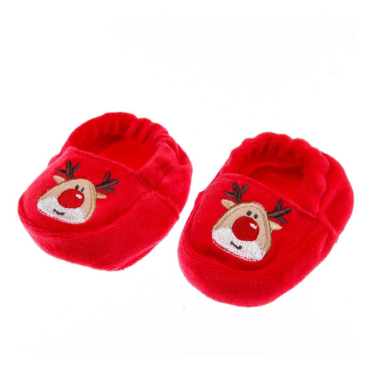 Купить Комплекты, Комплект BluKids Шапочка и пинетки, р. 50 5465810 ТМ: BluKids, красный