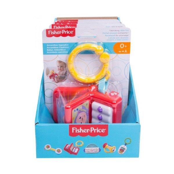 Купить Погремушки, грызуны, Музыкальная погремушка Fisher Price (в ассорт.) FFL29 ТМ: Fisher-Price