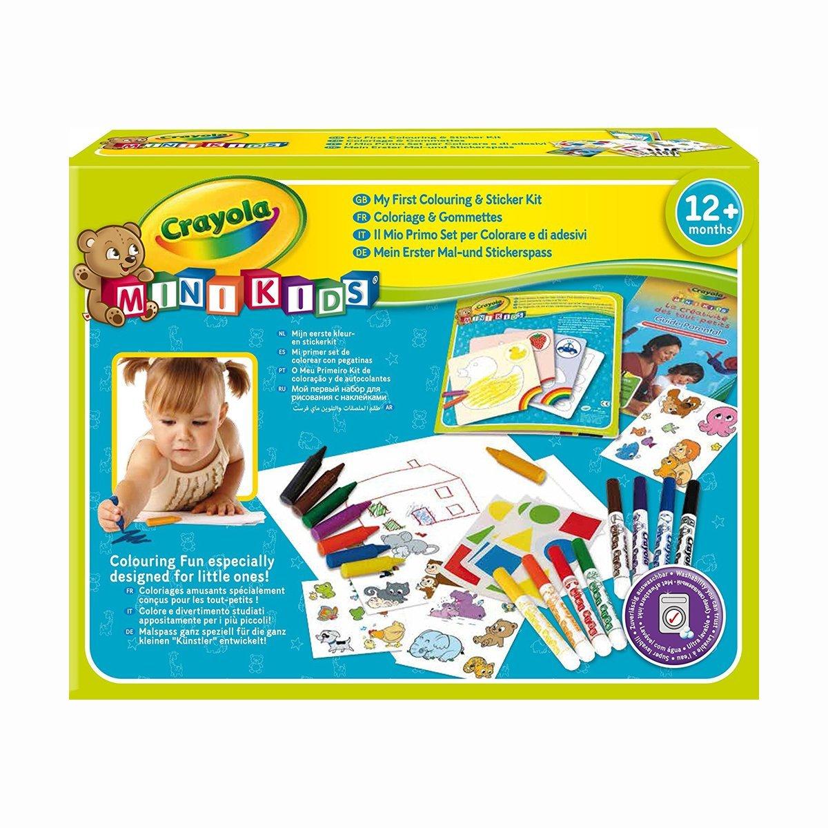 Купить Наборы для рисования, Набор для рисования Crayola с наклейками 10570 ТМ: Crayola