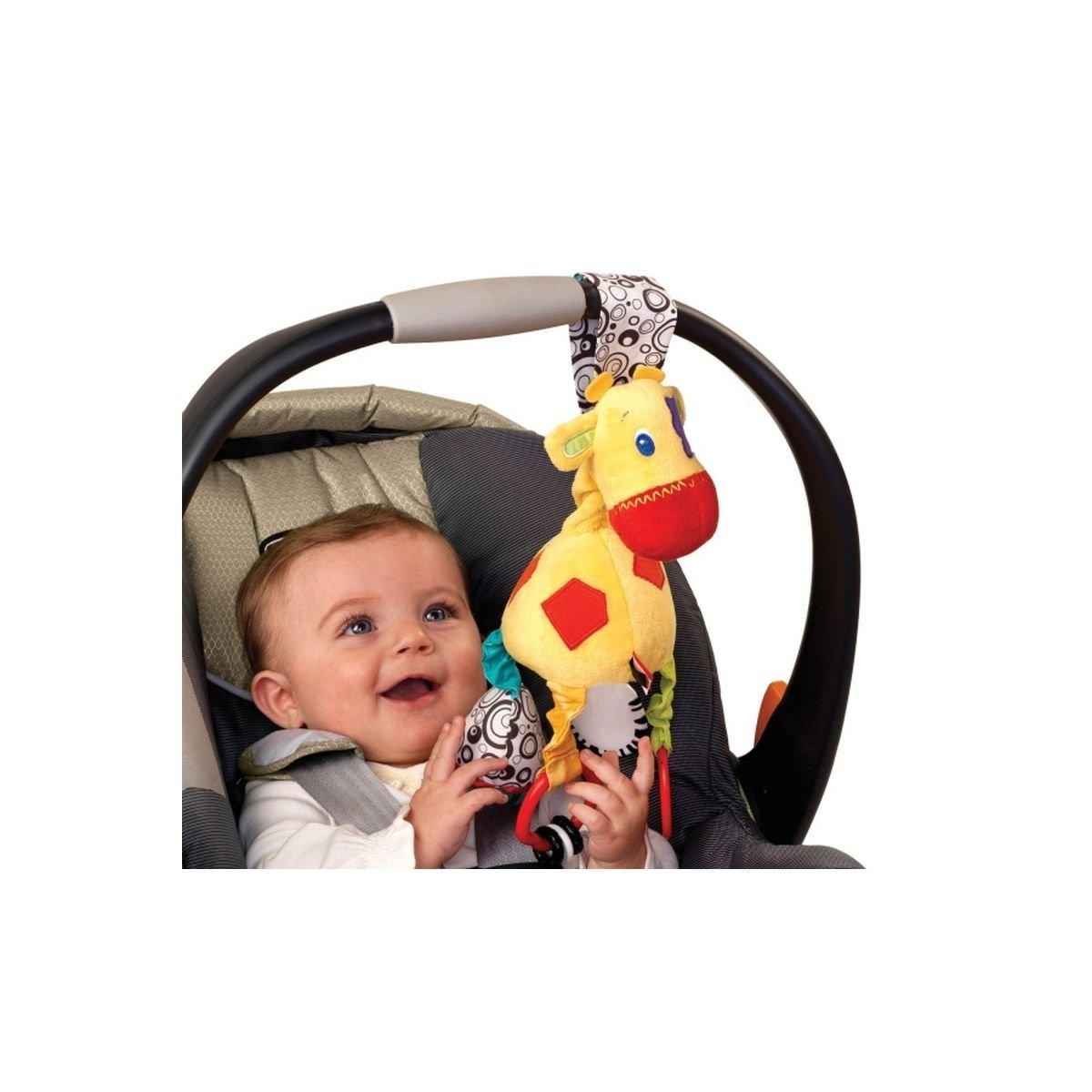 Купить Подвески, дуги, Подвеска Bright Starts Мягкий жираф 8976 ТМ: Bright Starts