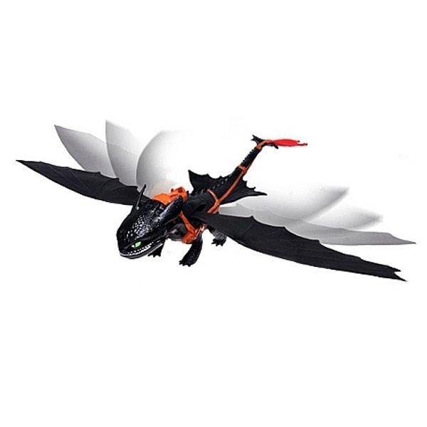 Купить Персонажи мультфильмов, фильмов, комиксов, Большой дракон Беззубик, (50 см) SM66555 ТМ: Spin Master