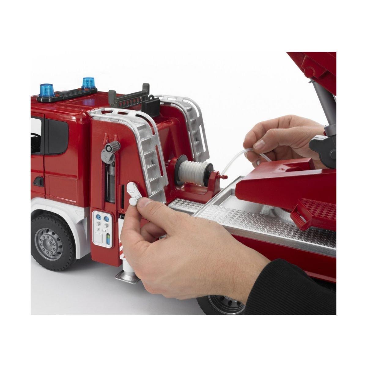 Пожарная машина SCANIA R-series с лестницей Bruder 3590 ТМ: Bruder