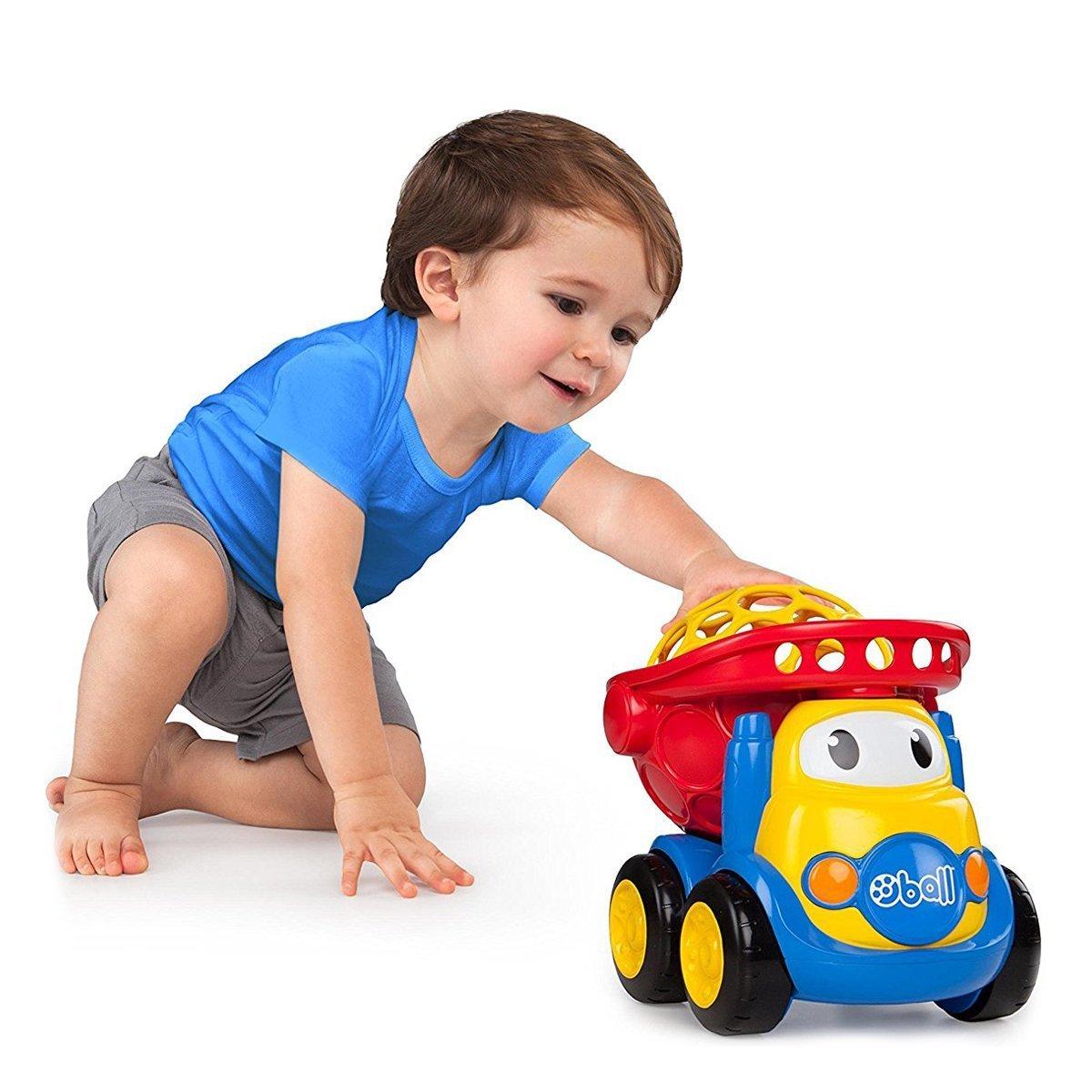 Купить Авто - мото, Машинка Bright Starts Oball Go Grippers Самосвал 10312 ТМ: Bright Starts