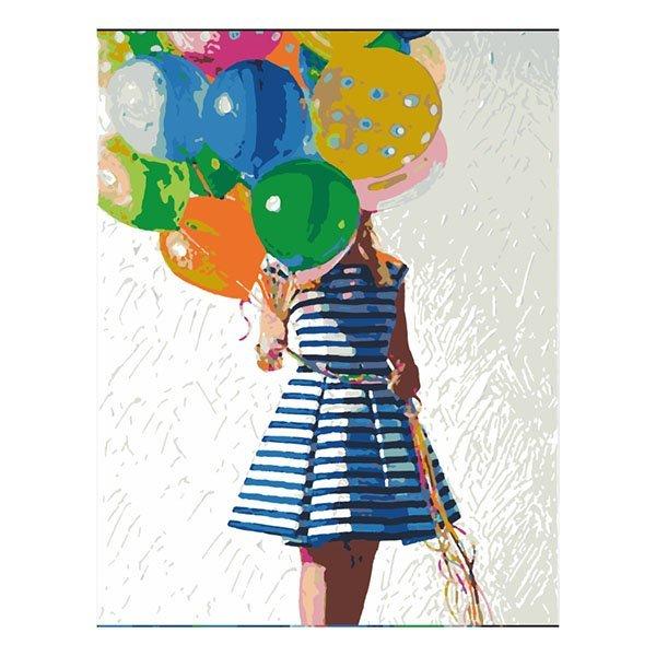Купить Наборы для рисования, Набор для рисования ROSA START Яркие шарики N00013102 ТМ: ROSA START