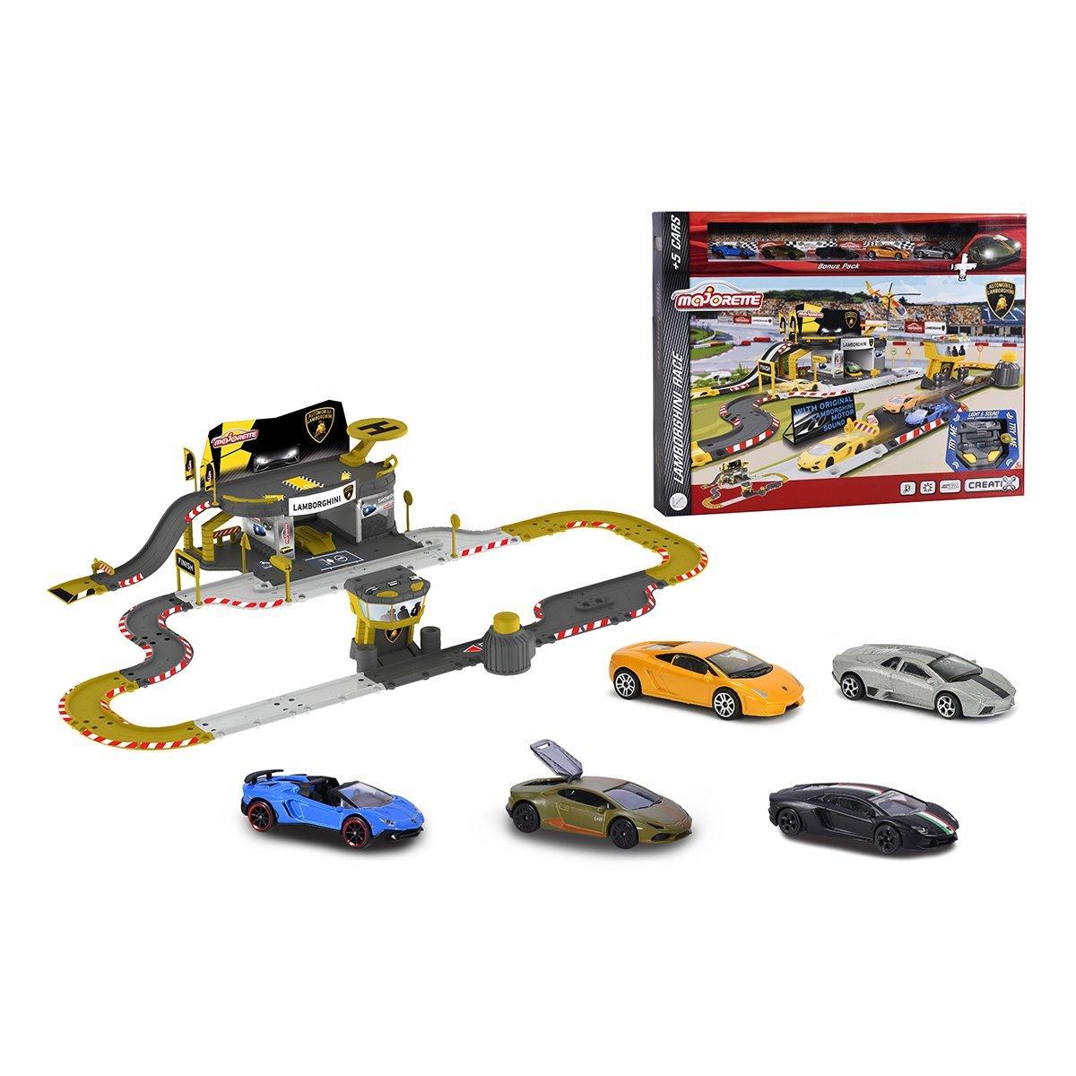 Купить Авто - мото, Игровой набор Majorette Creatix Трасса Ламборгини 2050025 ТМ: Majorette