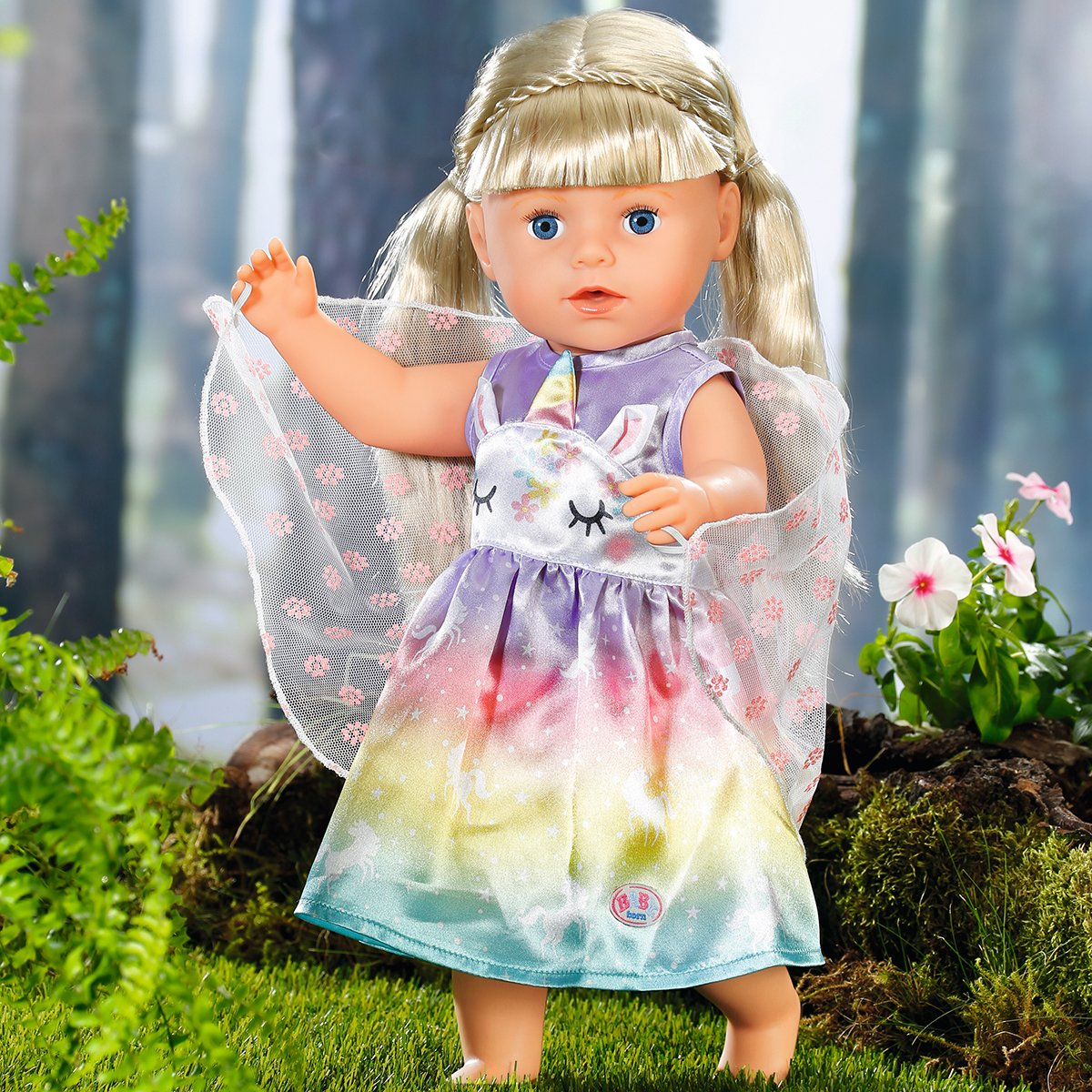 Купить Аксессуары для кукол, Одежда для куклы Baby Born Сказочная Фея 829301 ТМ: BABY born