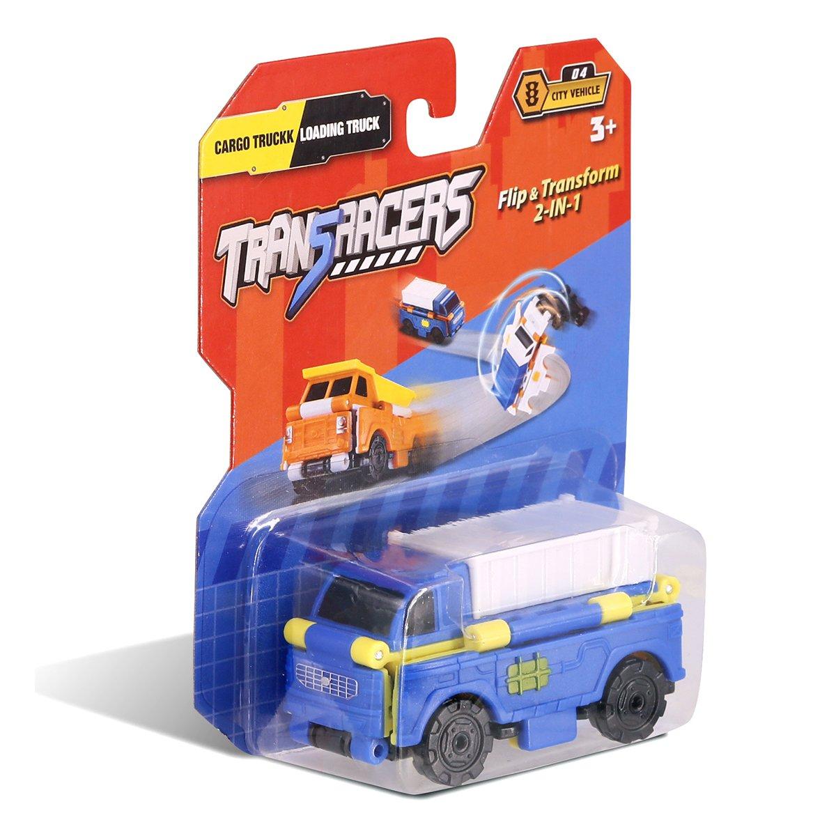 Купить Авто - мото, Машинка-трансформер TransRacers Cargo Truck&Loading Truck YW463875-12 ТМ: TransRacers