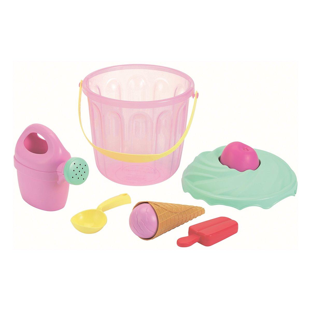 Купить Садово-песочный инвентарь, Набор для игры с песком Ecoiffier Сладости в ведерке 242 ТМ: Ecoiffier
