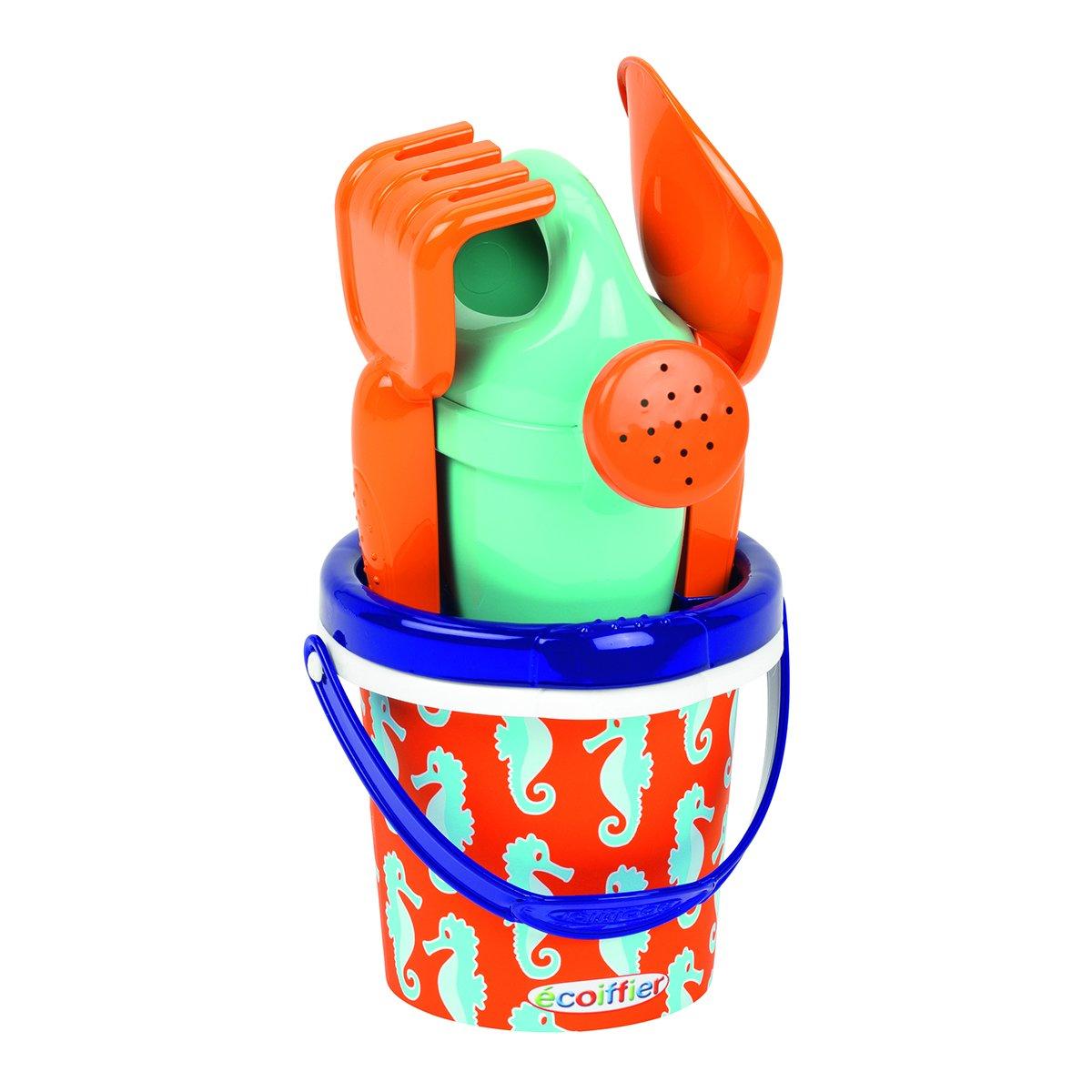Купить Садово-песочный инвентарь, Набор для игры с песком Ecoiffier Морской котик мини 691 ТМ: Ecoiffier