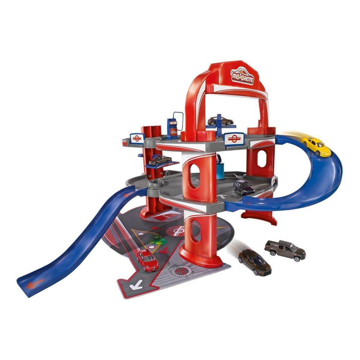 Купить Гаражи, паркинги, заправки, Игровой набор Majorette Гараж с машинкой 2053743 ТМ: Majorette