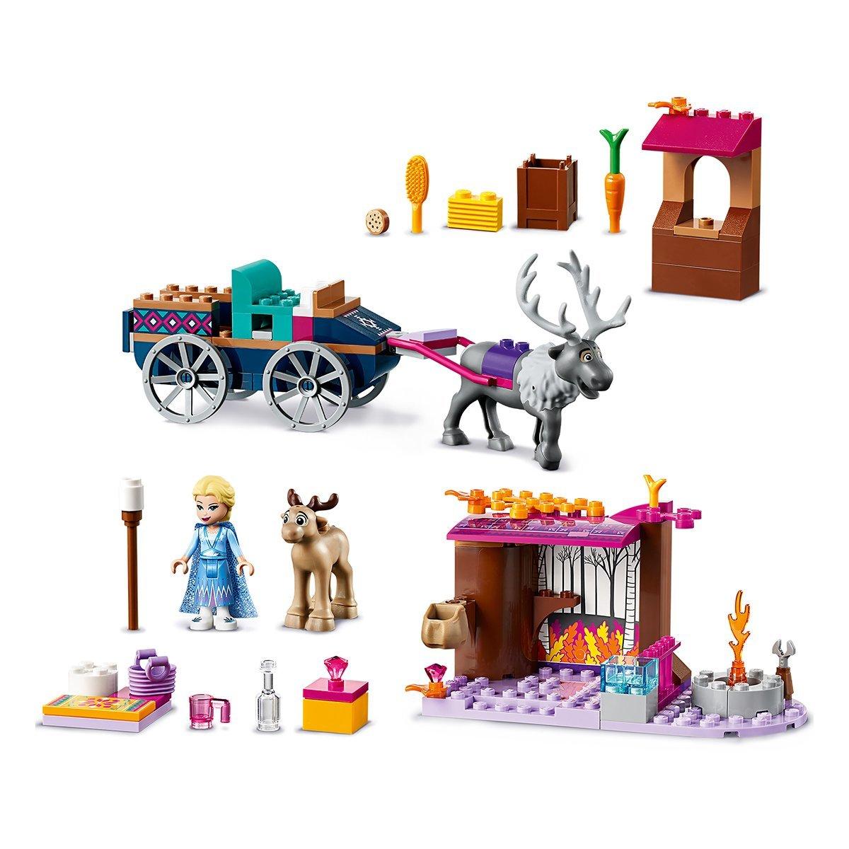Купить LEGO® Disney Princess™ Дорожные приключения Эльзы 41166 41166 ТМ: LEGO
