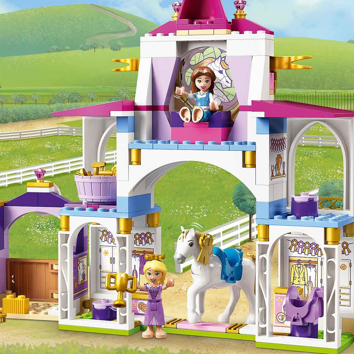 LEGO® Disney Princess™ Королевская конюшня Белль и Рапунцель 43195 43195 ТМ: LEGO, 43195
