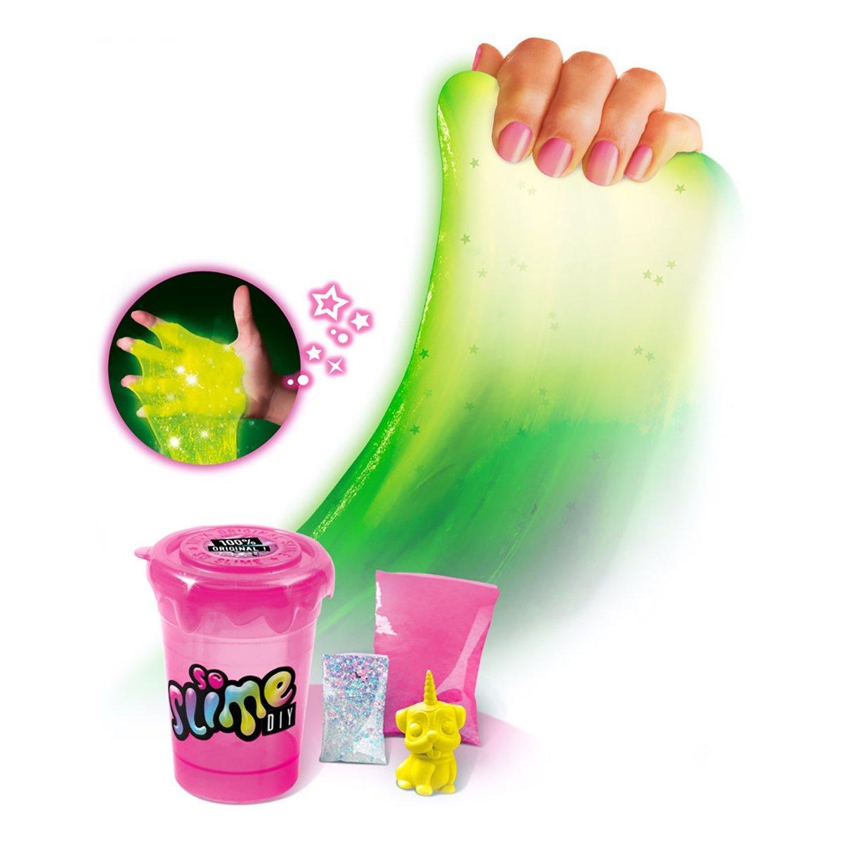 Купить Слаймы, Набор для творчества So Slime Лизун светящийся (в ассорт) SSC037 ТМ: Canal Toys