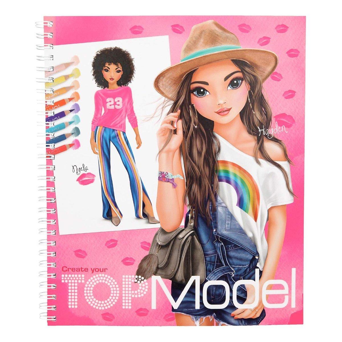 Купить Наборы для рисования, Альбом для раскрашивания Top Model Дизайн 410203 ТМ: TOP Model