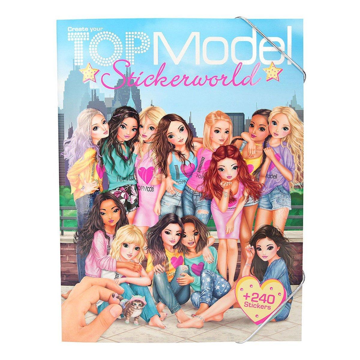 Купить Наборы для рисования, Альбом с наклейками Top Model Stickerworld 410222 ТМ: TOP Model