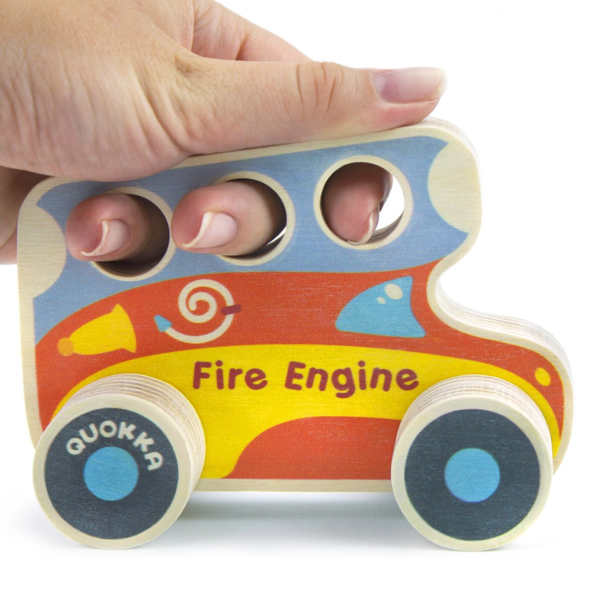 Машинка Quokka Пожарная QUOKA92PTF ТМ: Quokka