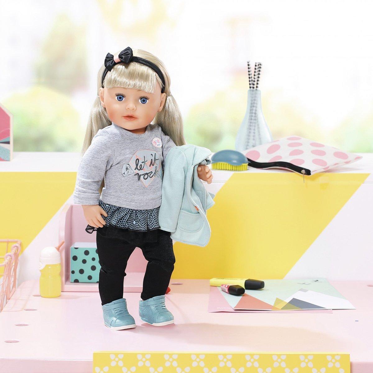 Купить Куклы и наборы, Кукла Baby Born Сестренка-модница, 43 см 824245 ТМ: BABY born