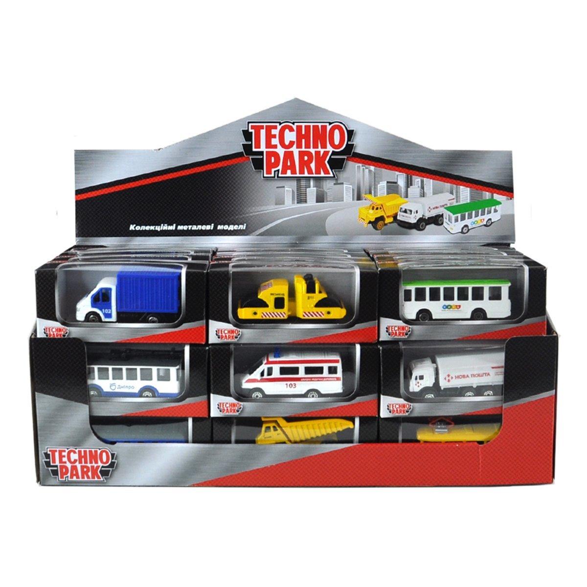 Модель Technopark Служебный транспорт (в ассорт) SB-19-01-CDU ТМ: Технопарк