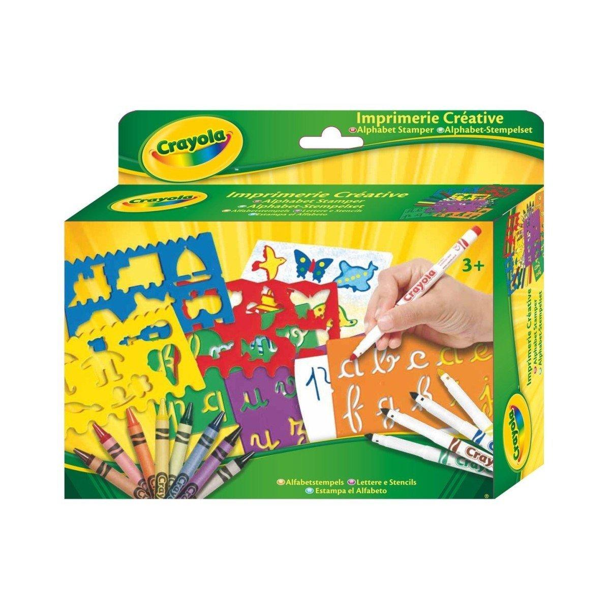 Купить Наборы для рисования, Набор для творчества Crayola Алфавит 10527 ТМ: Crayola