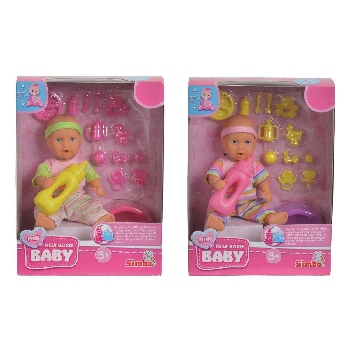 Купить Пупсы и наборы, Игровой набор New Born Baby Малыш 12 см (в ассорт) 5033195 ТМ: New Born Baby