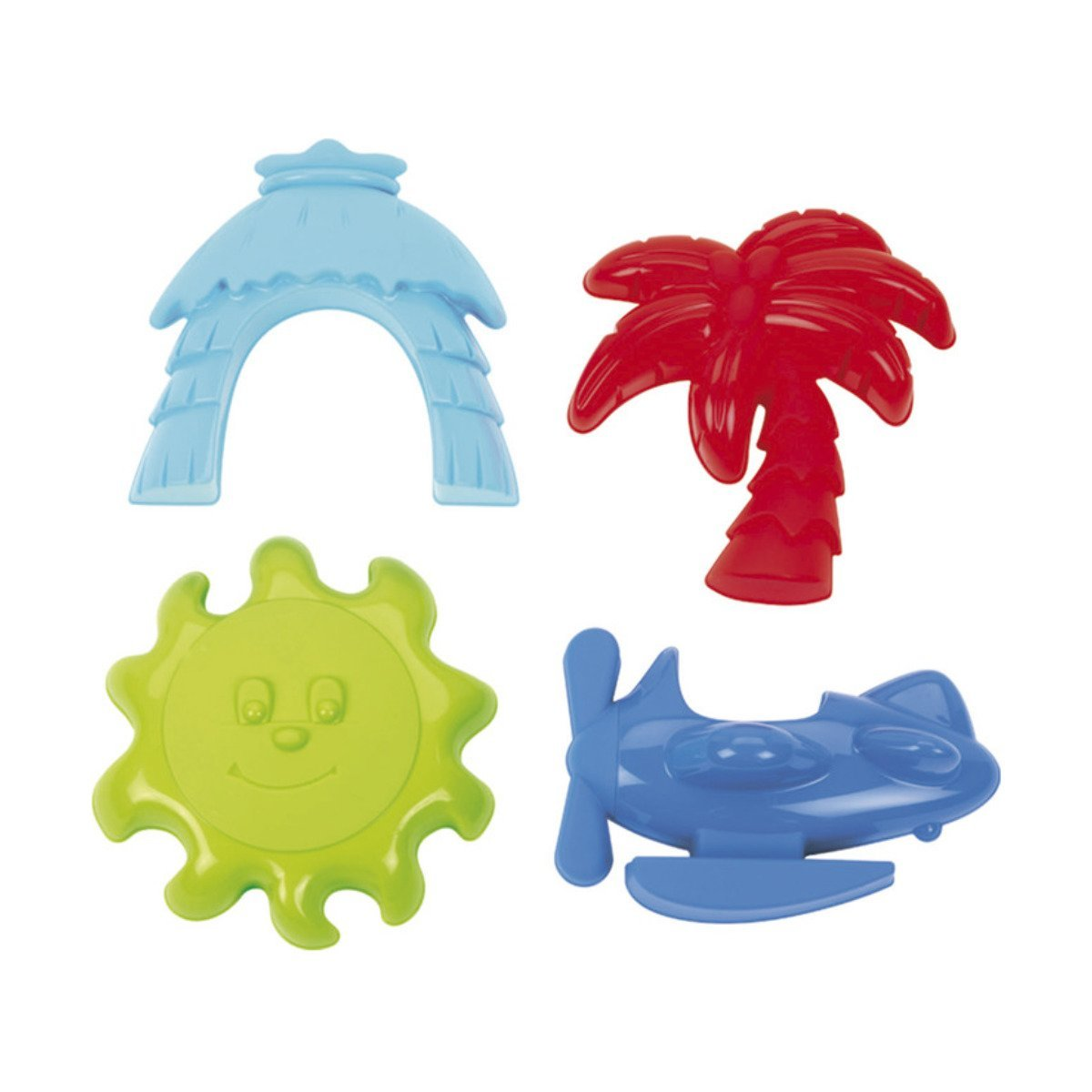 Купить Садово-песочный инвентарь, Набор формочек для игры с песком Ecoiffier Лагуна 142 ТМ: Ecoiffier