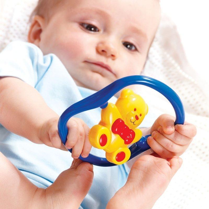 Погремушки, грызуны, Погремушка Tolo Мишка вращающийся красный 86130 R ТМ: Tolo  - купить со скидкой