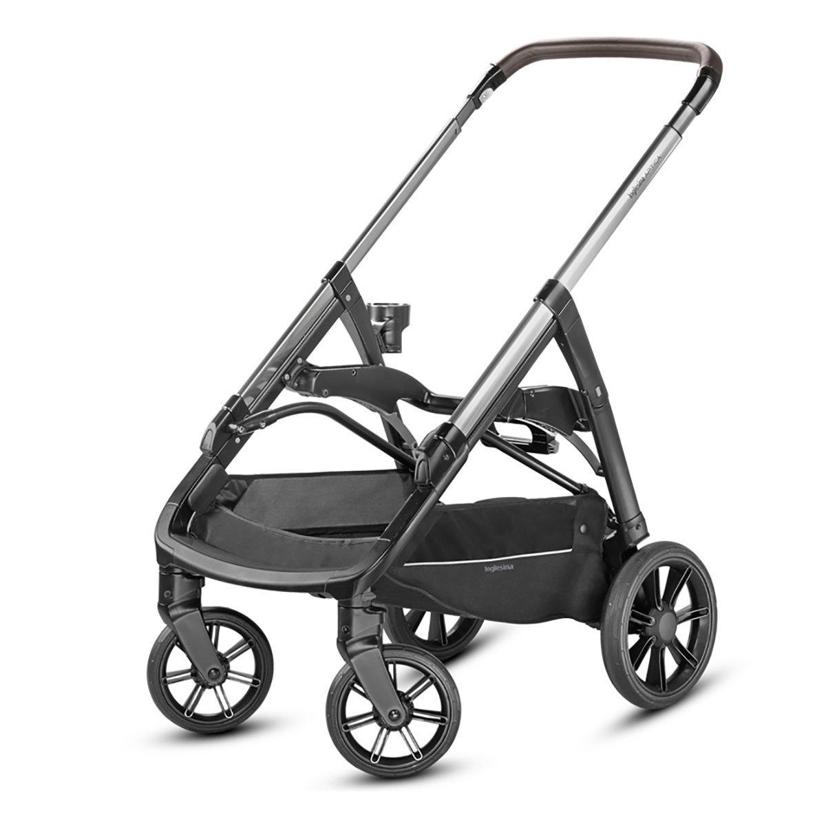 Купить Аксессуары для колясок, Шасси для коляски Inglesina Aptica Black Coffee AE70K0001 ТМ: Inglesina, серый