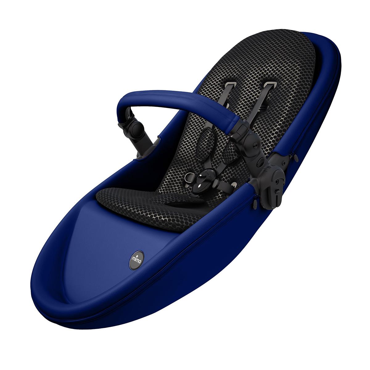 Купить Коляски зима-лето 2 в 1, Базовый набор Mima Xari Royal Blue 30136 ТМ: mima, синий