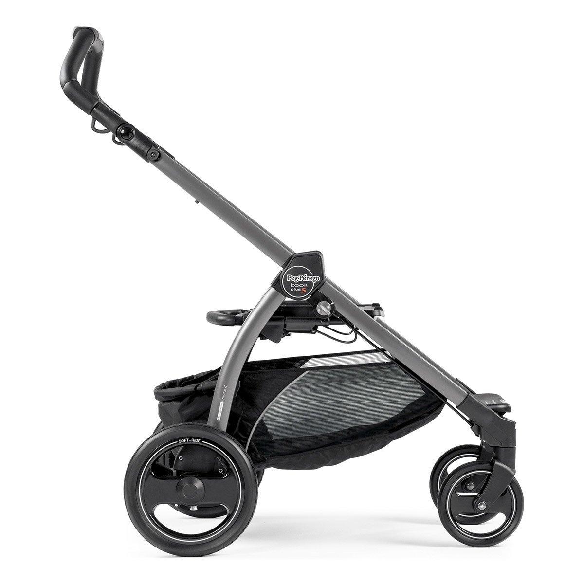 Купить Аксессуары для колясок, Шасси Peg-Perego Book Plus S grey ICBO0100NL77 ТМ: Peg-Perego, серый