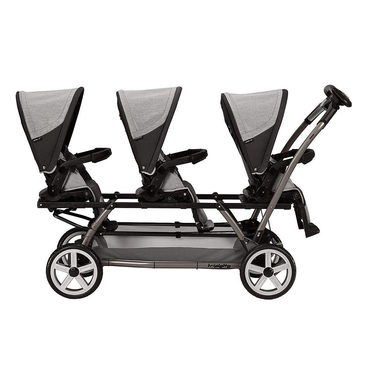 Купить Аксессуары для колясок, Шасси Peg-Perego Triplette grey ICDU0100NL77 ТМ: Peg-Perego, серый