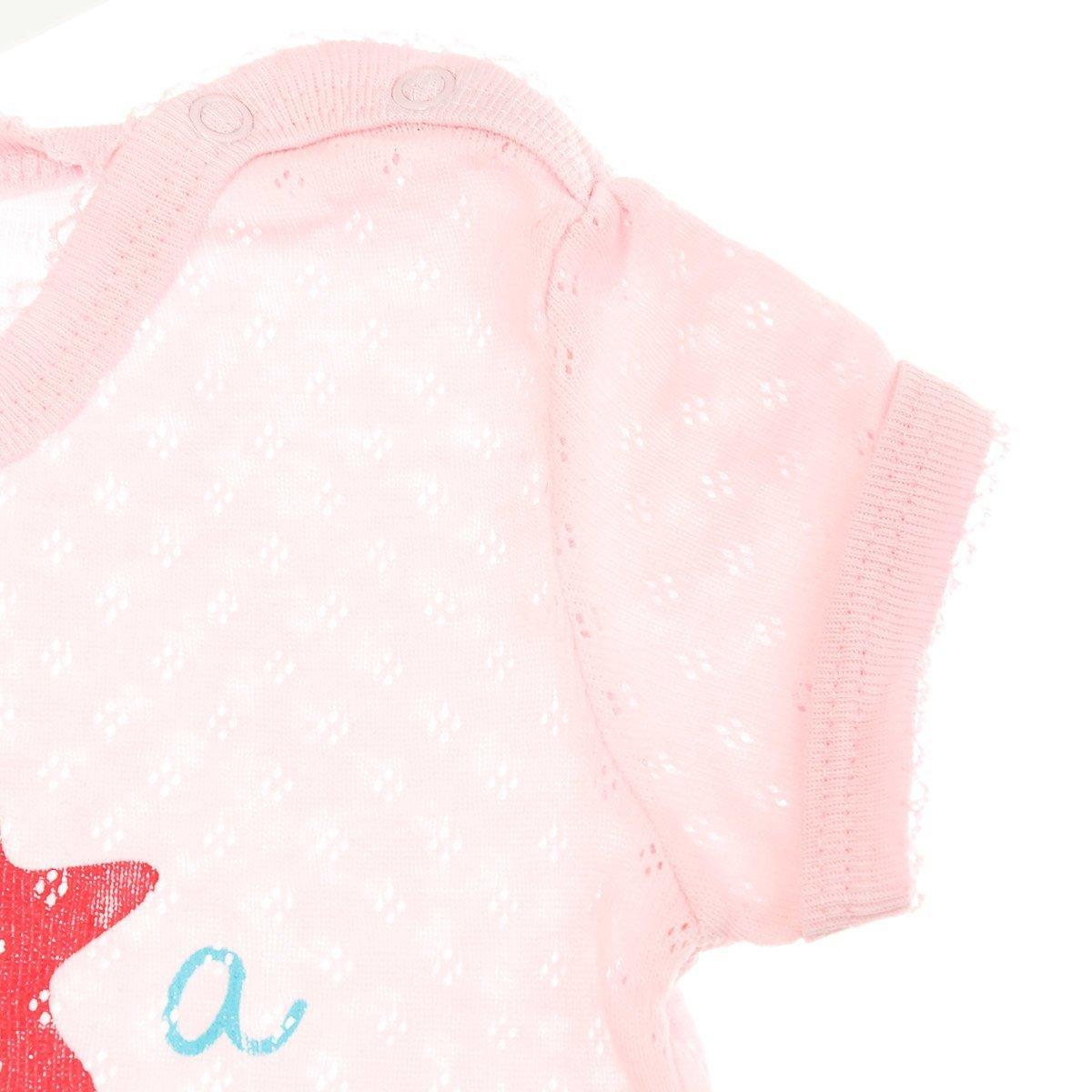 Боди SMIL Starfish розовый, р. 74 102428 ТМ: SMIL