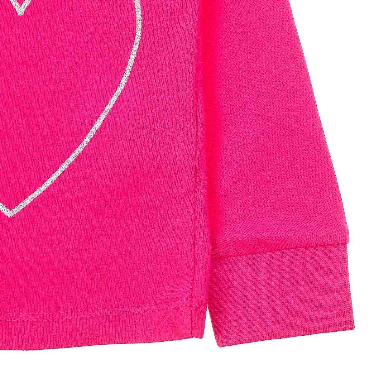 Нижнее белье, пижамы, халаты, Пижама BluKids Love to the Moon and back, р. 104 5264548 ТМ: BluKids, белый с розовым  - купить со скидкой