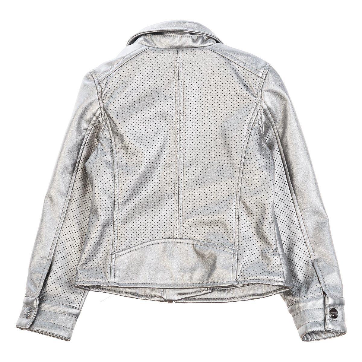 Верхняя одежда, Куртка BluKids Silver Bell, р. 110 5293518 ТМ: BluKids, серебро  - купить со скидкой