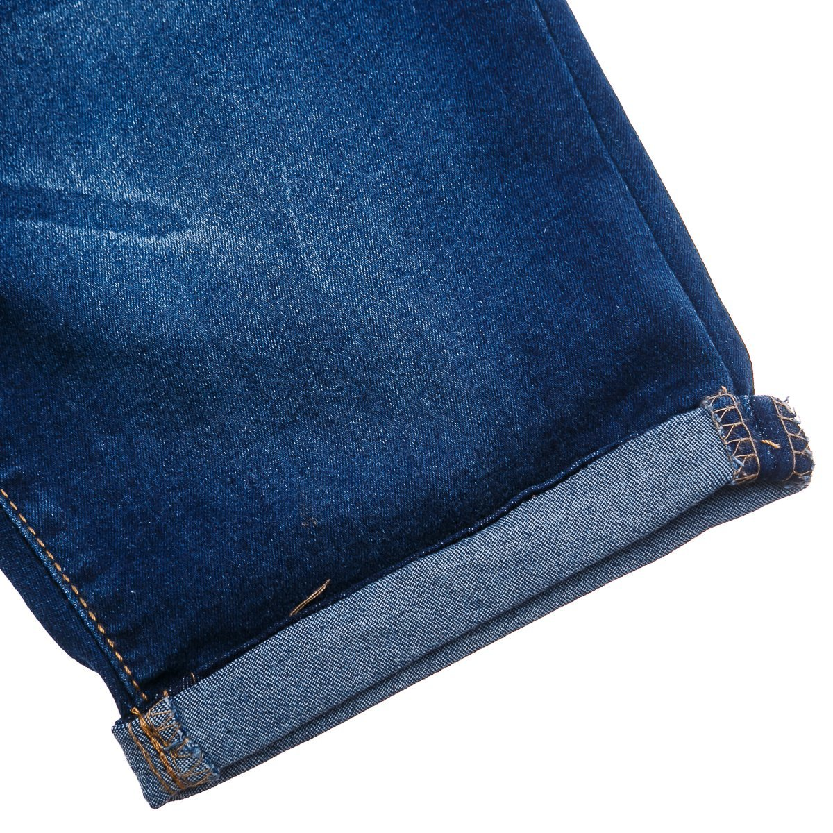 Купить Брюки, джинсы, шорты, Шорты Silversun Navy Jeans, р. 128 SC314384 ТМ: Silversun, синий