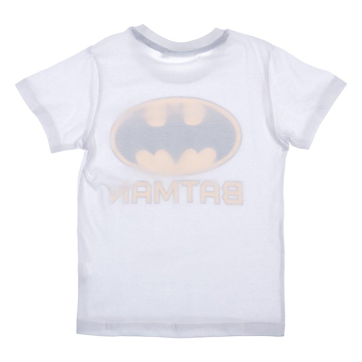Купить Футболки, майки, топы, туники, Футболка E Plus M Batman White, р. 140 BAT5202184 ТМ: E Plus M, белый