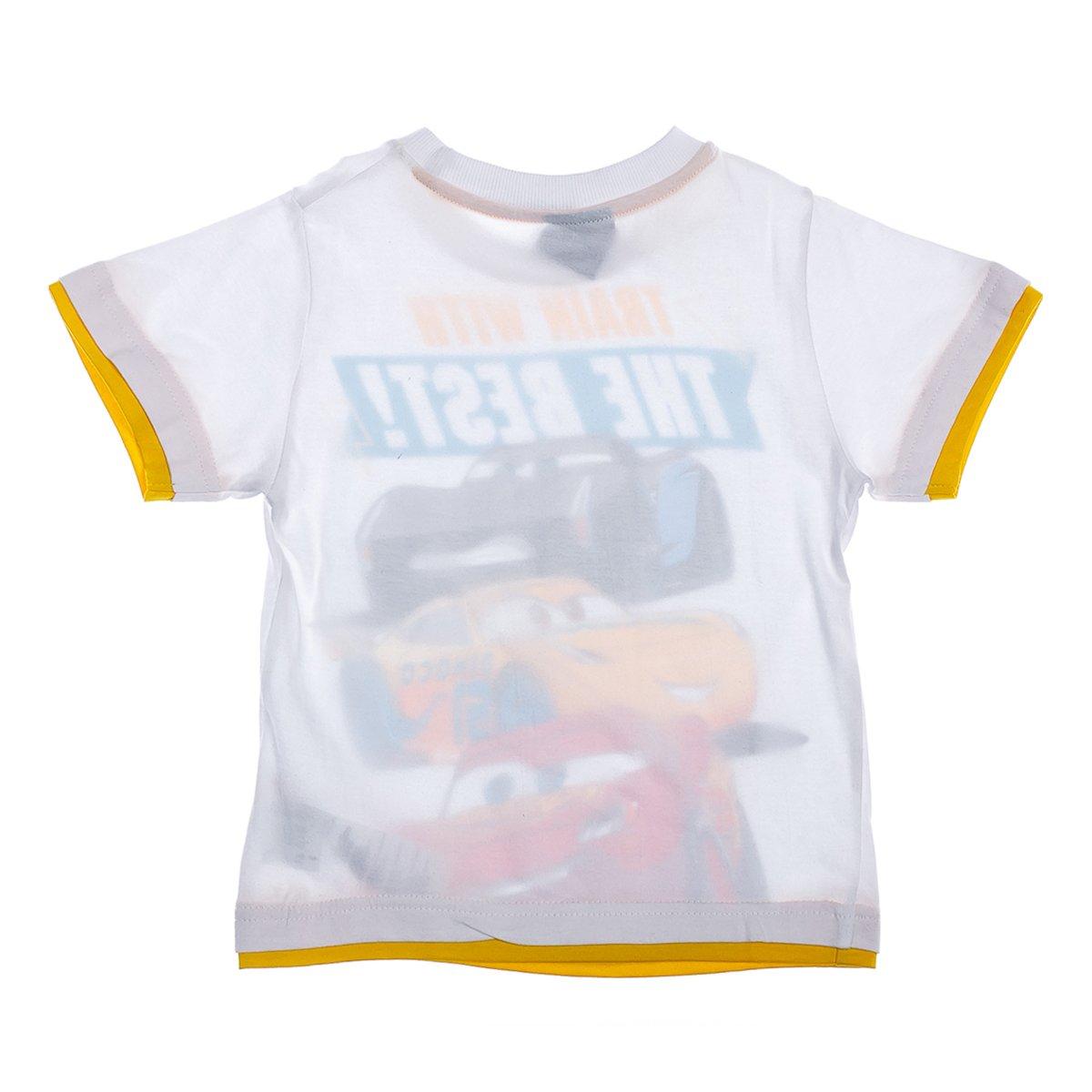 Купить Футболки, майки, топы, туники, Футболка E Plus M Cars The Best White, р. 128 DISC52026412 ТМ: E Plus M, белый