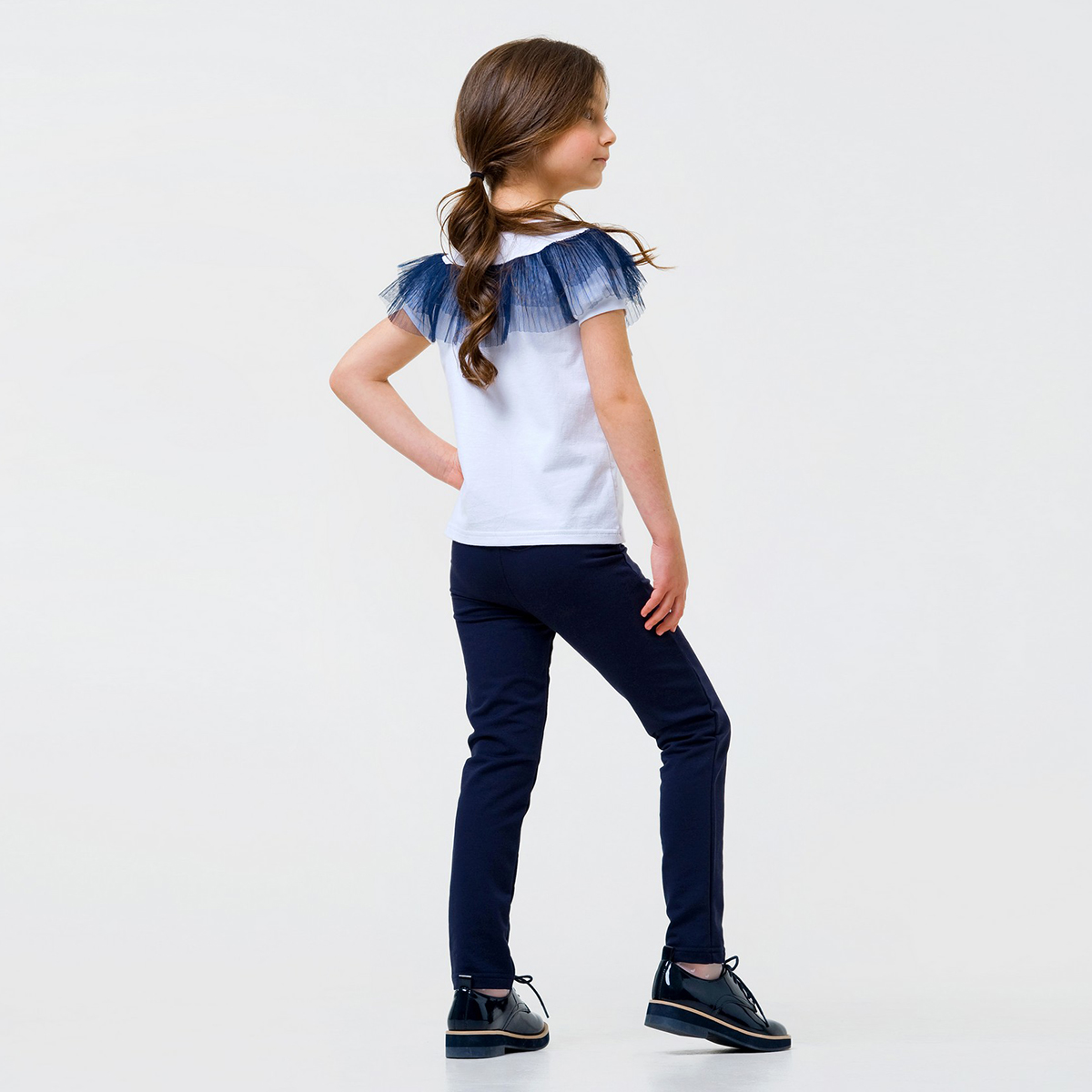 Купить Брюки, джинсы, шорты, Брюки Smil Stretch Blue, р. 128 115425 ТМ: SMIL, синий