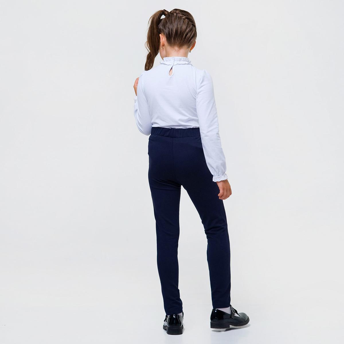 Брюки, джинсы, шорты, Брюки Smil Stretching, р. 128 115426 ТМ: SMIL, синий  - купить со скидкой