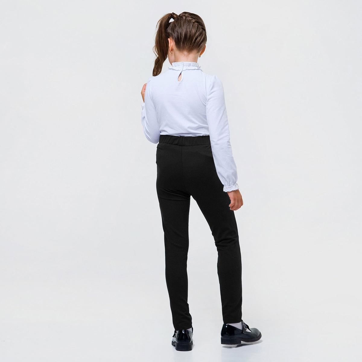 Купить Брюки, джинсы, шорты, Брюки Smil Stretch Black, р. 128 115426 ТМ: SMIL, черный