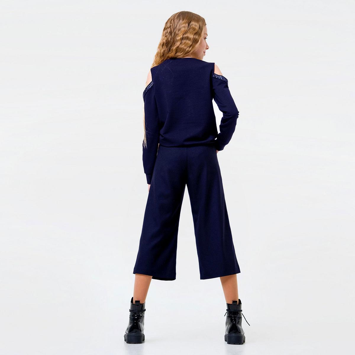 Купить Брюки, джинсы, шорты, Брюки Smil Short Strict Blue, р. 128 115434 ТМ: SMIL, синий