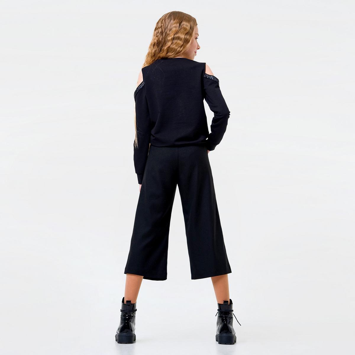 Купить Брюки, джинсы, шорты, Брюки Smil Short Strict Black, р. 128 115434 ТМ: SMIL, черный