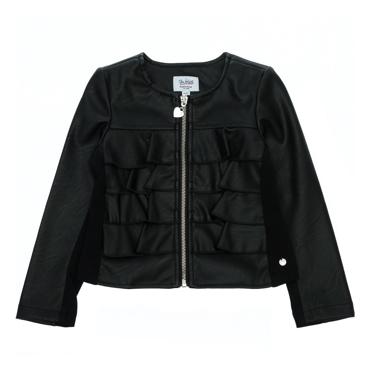 Купить Верхняя одежда, Куртка BluKids Black Heart, р. 110 5559804 ТМ: BluKids, черный