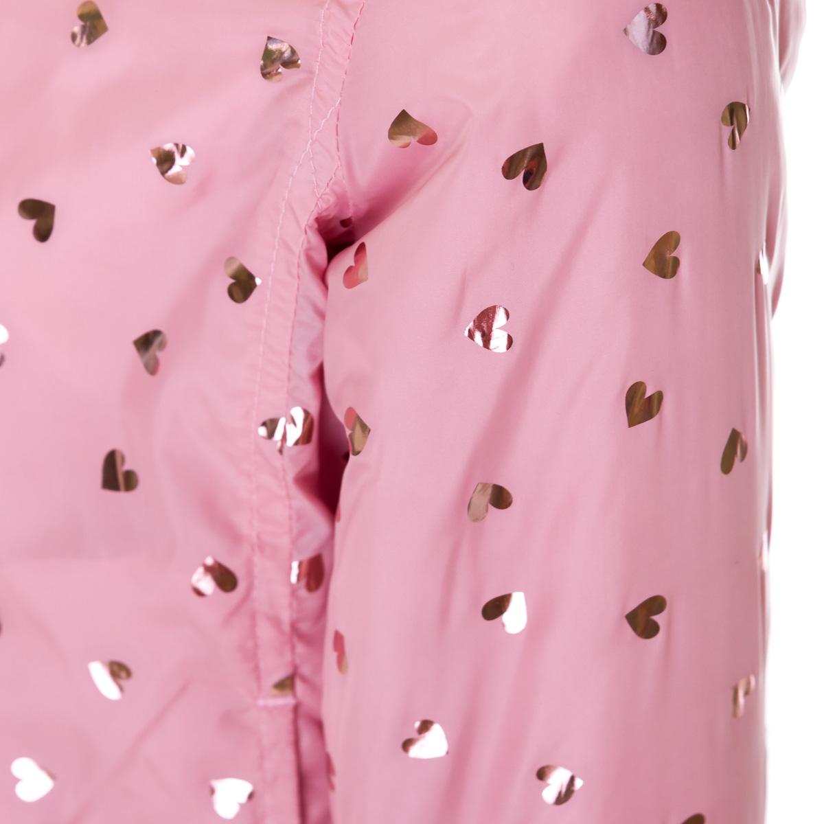 Купить Верхняя одежда, Ветровка BluKids Small heart, р. 110 5560708 ТМ: BluKids, розовый